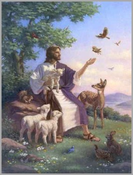 Jesus-e-os-animals-vegetariano