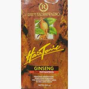 Perawatan Rambut Rudy Hadisuwarno Hair Tonik Ginseng Plus Phytantriol : MTR-01
