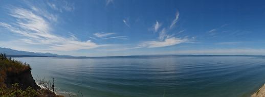 Panoramic View from Dungeness Recreation Area