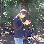 Nuestro cámara Iván