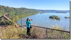 Sue Reno at Safe Harbor Overlook