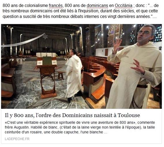 800 ans de colonialisme francés.