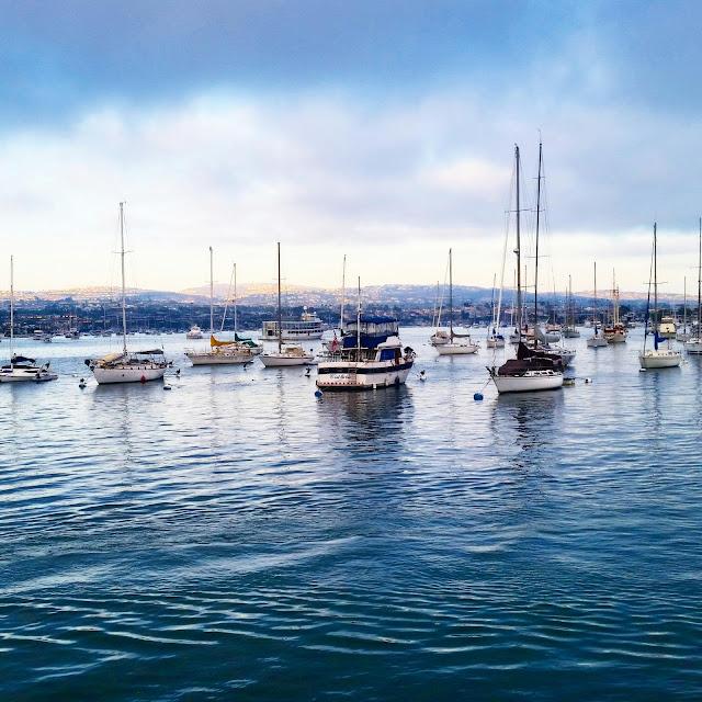 Balboa Island sailboats