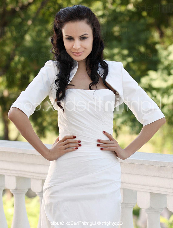 Taffeta Bridal Jacket