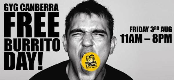 free burrito day