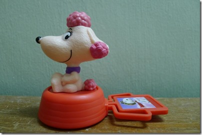 McDonald's happy meal X The Peanuts Movie 2015 toys: Snoopy's girlfriend