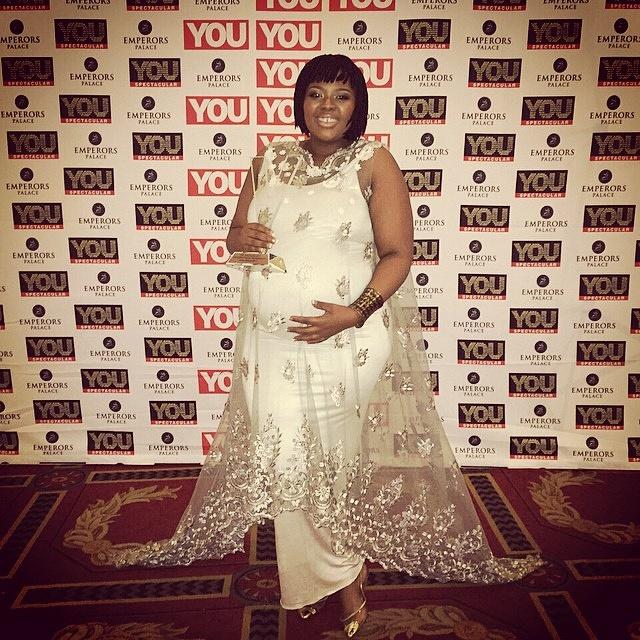 Anele Mdoda Is Pregnant