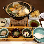 chanko dinner - sumo style in Tokyo, Tokyo, Japan