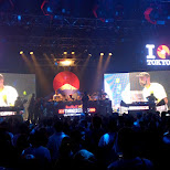 DJ time at Red Bull Thre3Style at Ageha in Tokyo in Tokyo, Tokyo, Japan