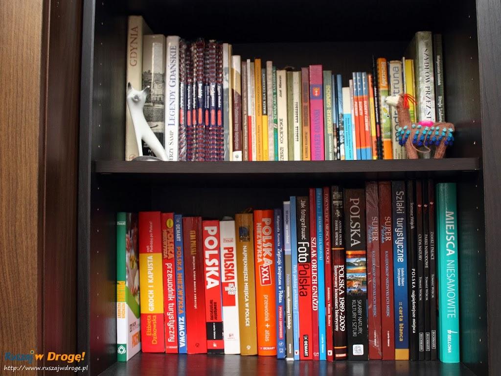 Regionalne przewodniki i książki na naszej półce