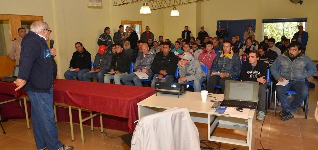 Se realizaron dos jornadas de capacitación para pesqueros artesanales en Costa Del Este
