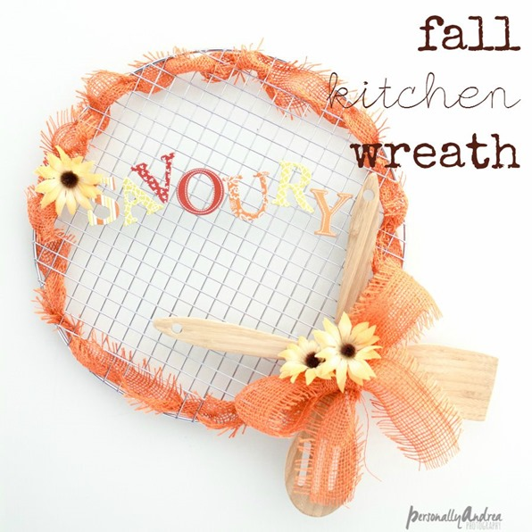 Fall Kitchen Wreath