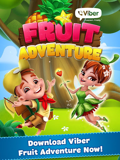Viber Fruit Adventure - screenshot