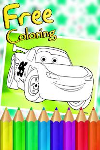 App Mcqueen Cars Coloring Book APK For Windows Phone