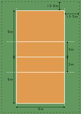 VolleyballCourt