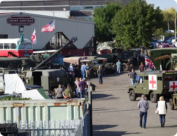 Wheels of War Past and Present classic military vehicle  show