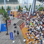 summer cosmo world festival in Yokohama, Tokyo, Japan