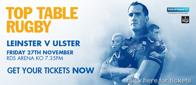 lEINSTER V ULSTER SPLASH