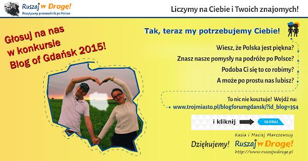 Blog of Gdansk - głosuj na Ruszaj w Drogę