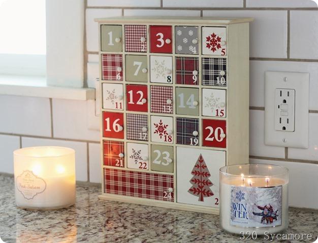 wooden advent calendar target