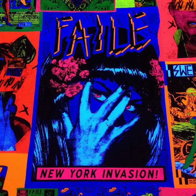 Faile New York Invasion poster