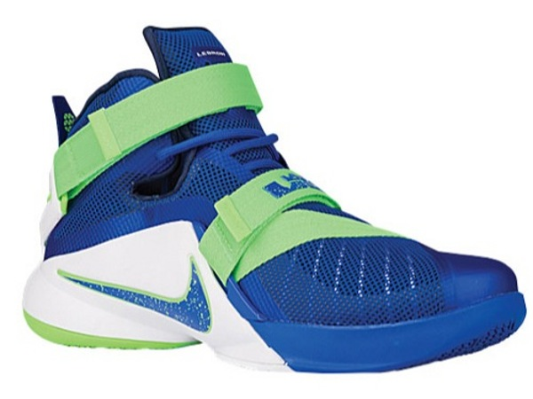 d7a41271709a Nike Officially Launches LeBron Soldier 9 8220Sprite8221 at Eastbay