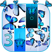 Blue Butterfly Piano 2019 3 Icon