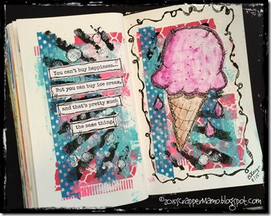 Stencils and Ice Cream