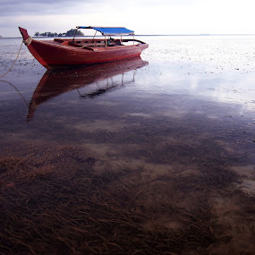 The Boat by Roem Hasadi - Landscapes Waterscapes ( waterscape, indonesia, landscape, batam )