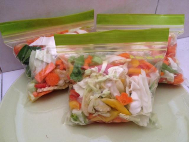 Tips 5 minit memasak sayur campuran segar & lazat