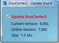 Emucenter 2 update