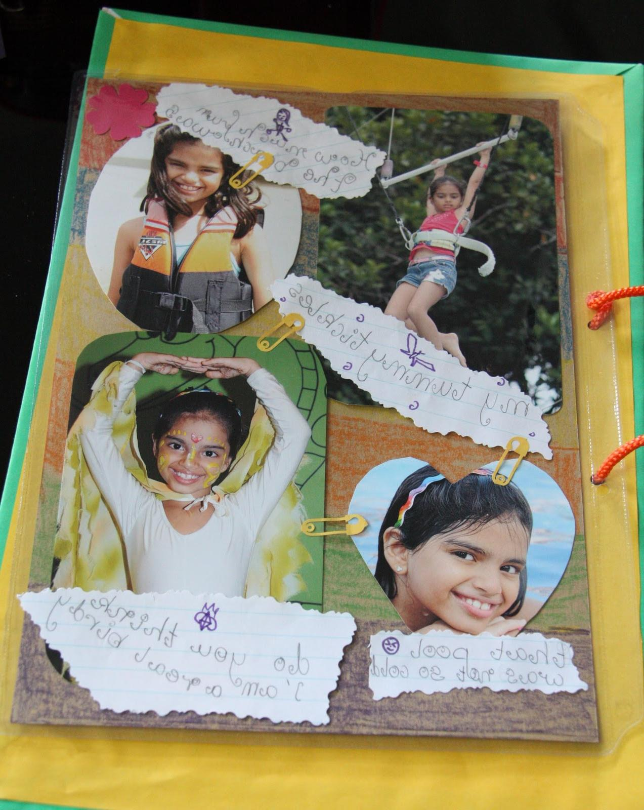 Scrap book pages!