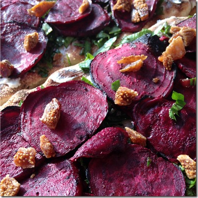 Grilled Beet and Goat Cheese Pizza (3) | Photo | The Lisa Porter Collection