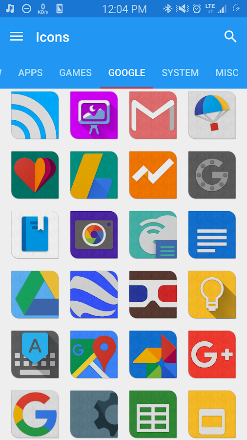 Caricon - HD Icon Pack Screenshot 3