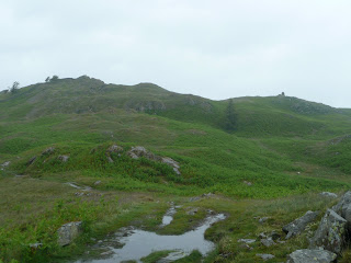 Black Fell (Trig Point on Left - Cairn on Right)