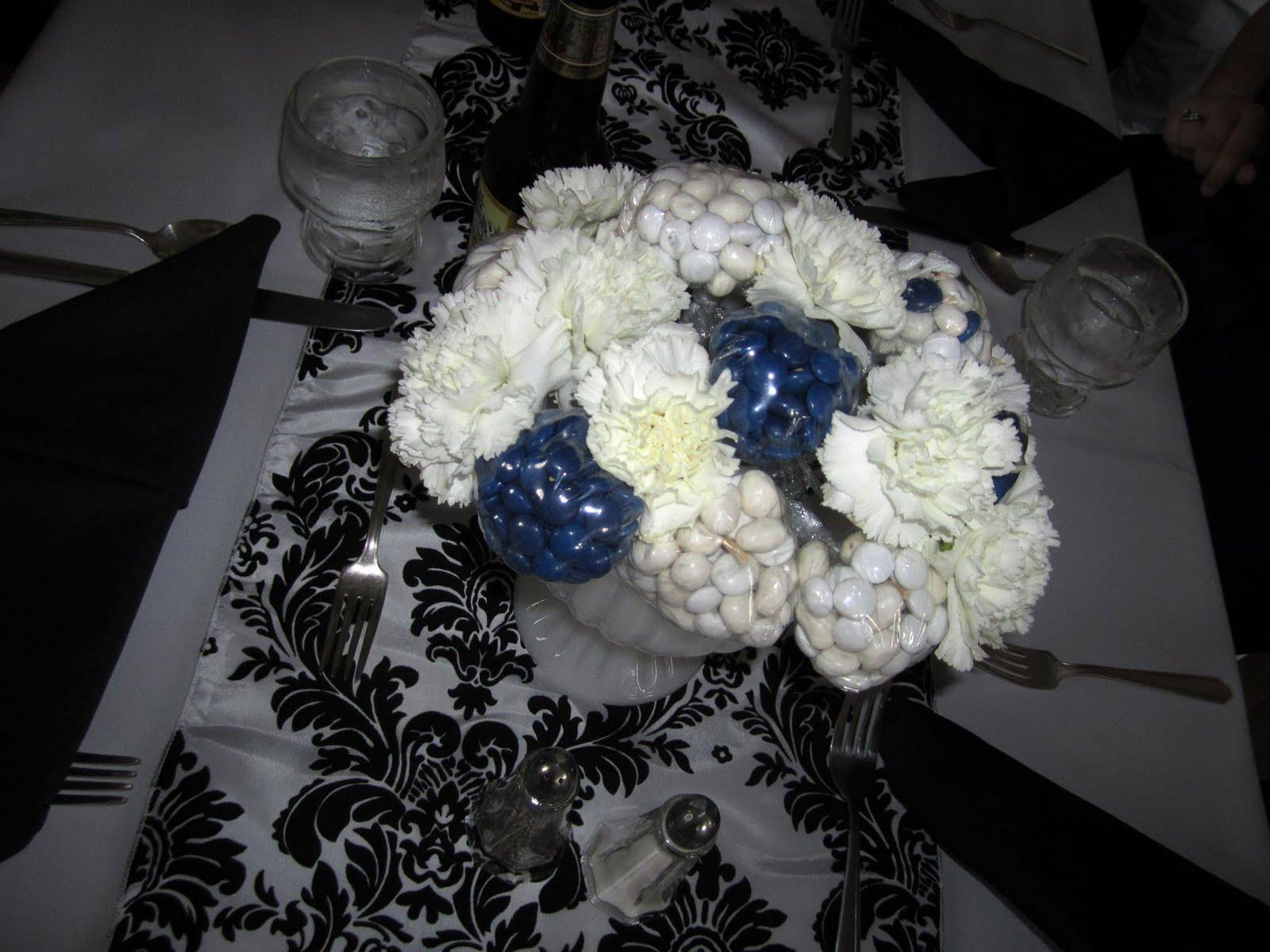 the finished centerpiece
