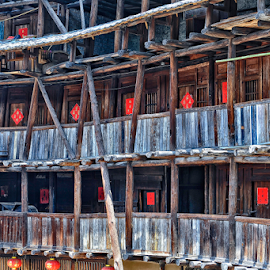Fujian Tulou by Ferdinand Ludo - Buildings & Architecture Homes ( houses, ancient, taken may 2009, 19th century, old houses )