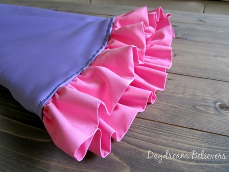 Handcrafted Ruffle trim