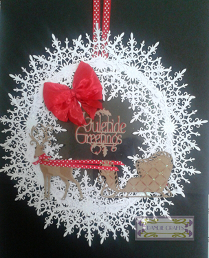 Yuletide Greetings Wreath Jul 15