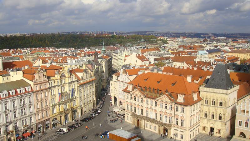 Vista desde la Torre del Reloj, Praga