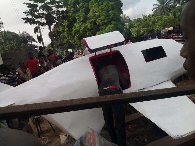 Boy builds plane in Enugu state