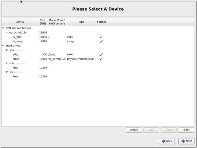 Install OS Screen 22