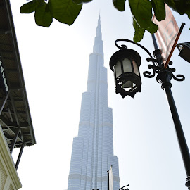 Burj Khalifa by Jerry Faderes - Buildings & Architecture Office Buildings & Hotels
