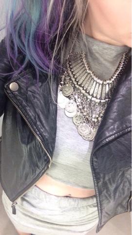 Sammi Jackson - Grey Dress Link Coord Set