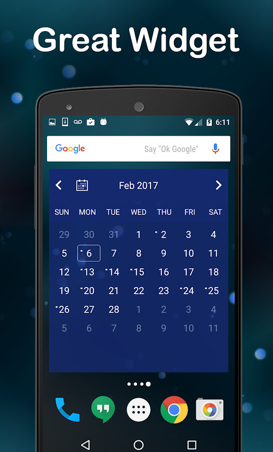 Chronos Calendar Screenshot 2