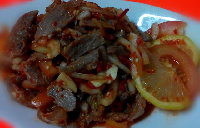Resepi kerabu daging