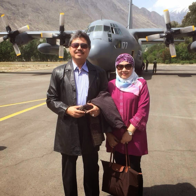 ISTERI Pesuruhjaya Tinggi Malaysia Ke Islamabad Terhempas Helikopter