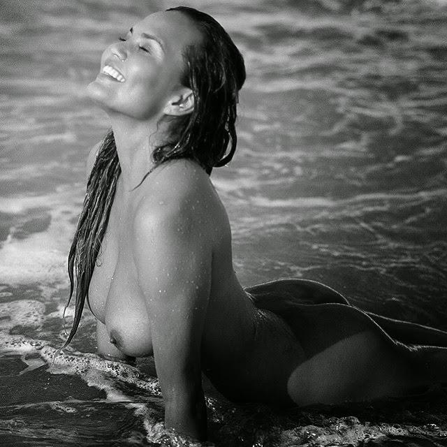 John Legend's Wife Chriss Teigen Goes Nude In Dujour Magazine