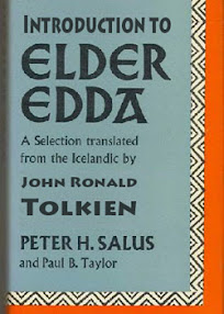 Cover of John Ronald Tolkien's Book Introduction to The Elder Edda