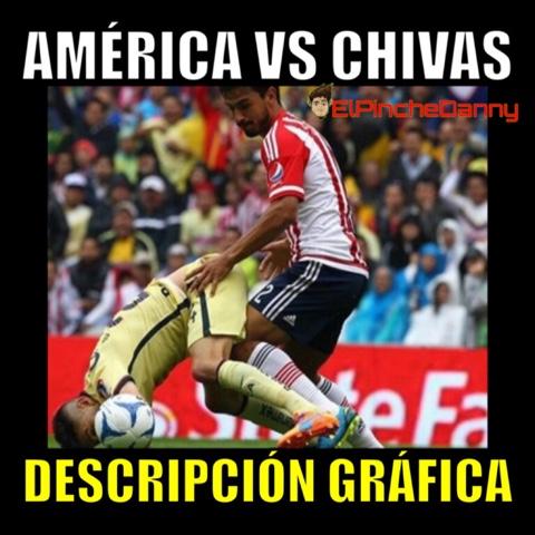 Los mejores memes del América vs Chivas